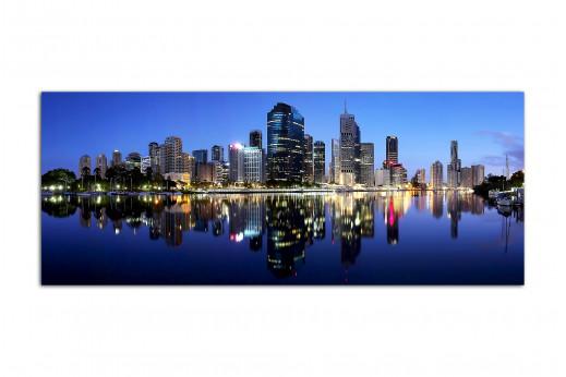 Фотокартина в интерьер Мегаполис на закате