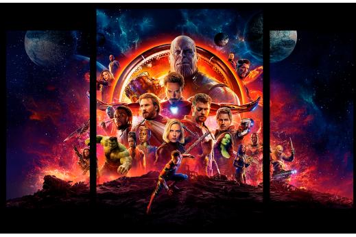 Модульная картина Мстители Финал