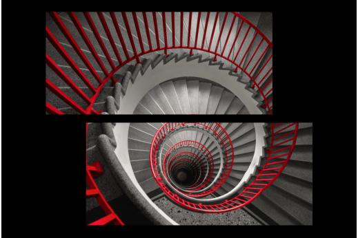 Модульная картина Лестница